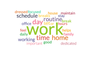 work from home experience