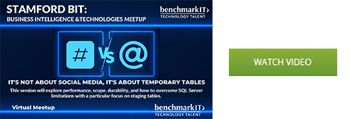 Temporary Tables watch video button